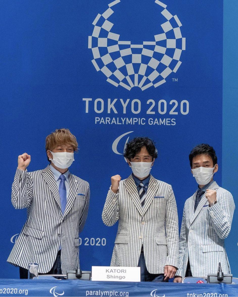 shingo goro tsuyoshi alla conferenza stampa delle Paralimpiadi il mio viaggio in giaippone traveltherapists